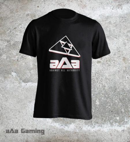 T-shirt aAa Black Classic