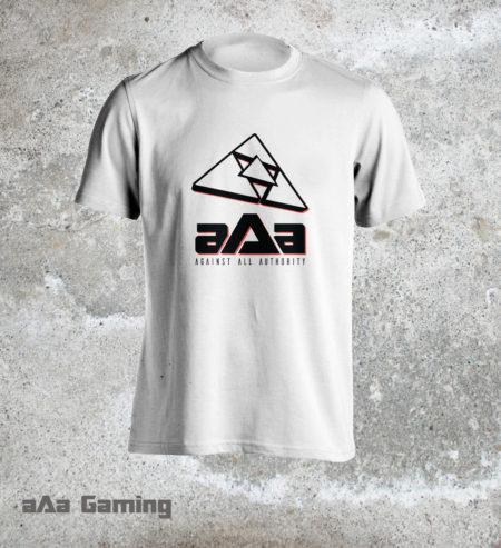 T-shirt aAa White Classic