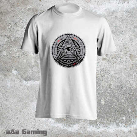 t-shirt Esport secret aAagent