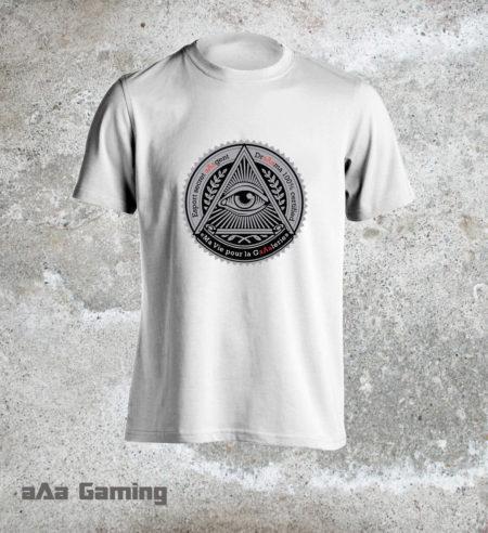 t-shirt Esport secret aAagent
