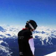Dokai glacier La Plagne