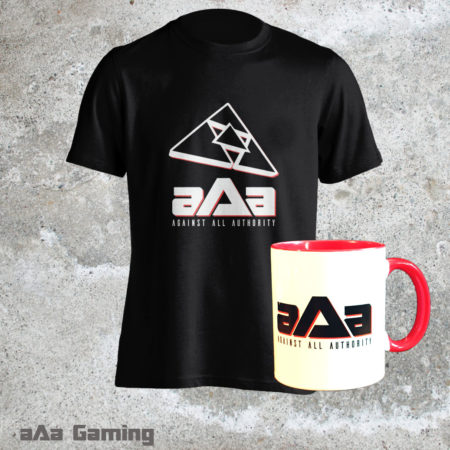Pack T-shirt Black Classic et Mug rouge