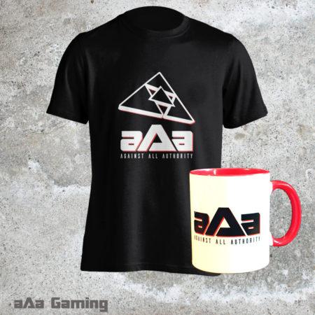 Pack T-shirt Black Classic et Mug rouge
