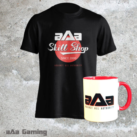 Pack T-shirt Skill shop et mug rouge