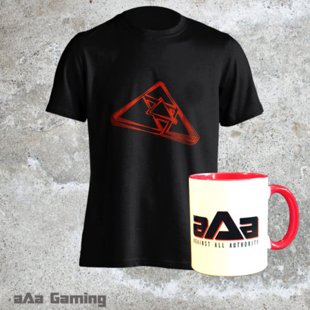 Pack T-shirt Vibration et mug rouge
