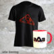 Pack T-shirt Vibration et mug rouge