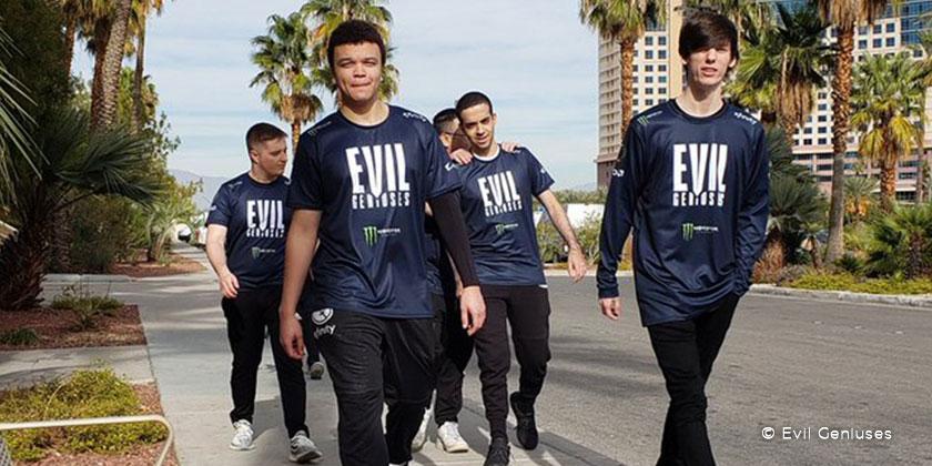 Evil Geniuses a dévoilé son nouveau logo