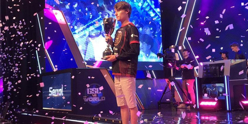 GSL vs the World : Serral champion