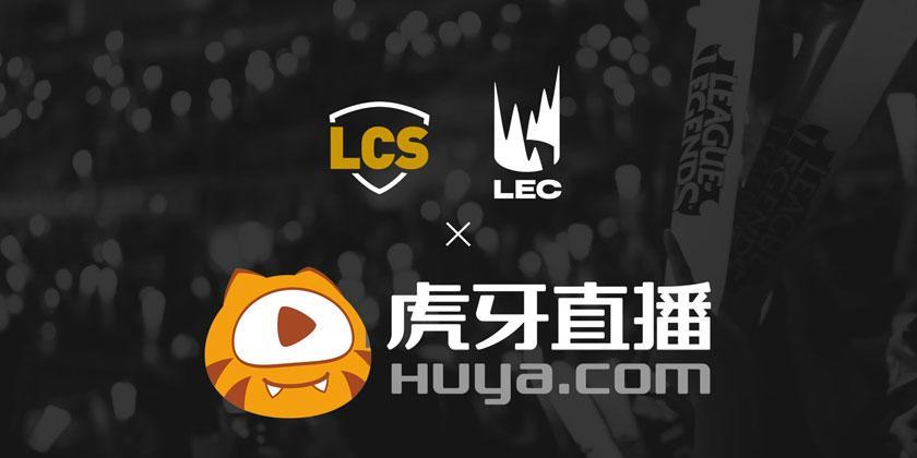 Les LCS et le LEC s'exportent en Chine avec Huya
