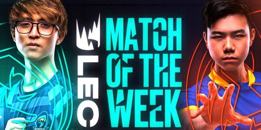 LEC :  MAD Lions - Rogue pour le match de la semaine