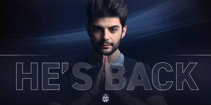 OG annonce le retour de Ceb au sein de l'équipe
