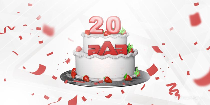 aAa a 20 ans !