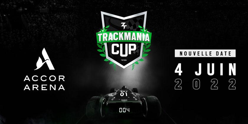 La Zrt Trackmania Cup 2021 à l'AccorHotels Arena le 4 juin 2022