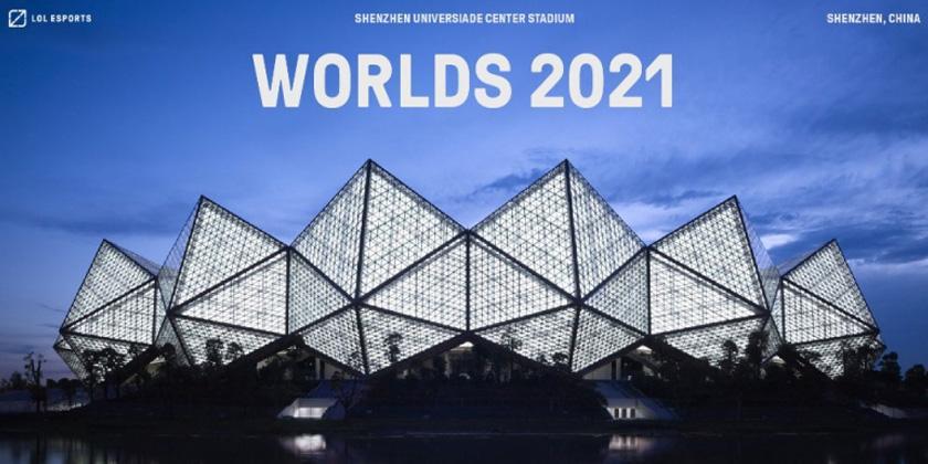 Les cinq villes dans lesquelles se dérouleront les Worlds 2021
