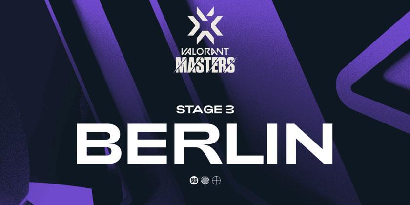 Les Masters du Stage 3 se joueront à Berlin