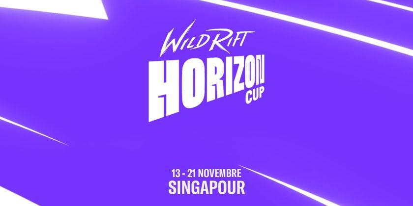 Riot Games présente la Wild Rift Horizon Cup