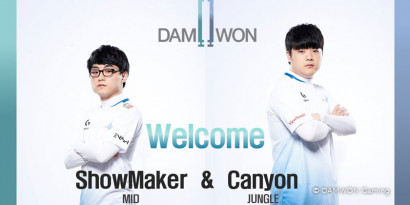 Mercato LoL : DAMWON Gaming prolonge ShowMaker et Canyon