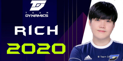 Mercato LoL : Rich rejoint Team Dynamics comme toplaner
