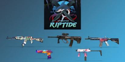 Tous les nouveaux skins de l'Opération Riptide