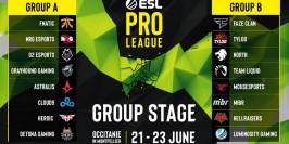 Les groupes des finales de l'ESL Pro League Saison 9