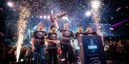 ESL One Birmingham : Team Secret champion