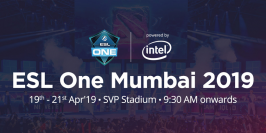 ESL One Mumbai : le titre pour Keen Gaming