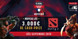 ESL lance son Championnat National sur Dota2