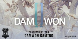 Worlds 2019 : Damwon Gaming fera le déplacement