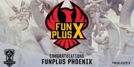 Worlds 2019 : FunPlus Phoenix obtient son invitation