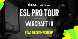 L'ESL Pro Tour débarque sur Warcraft III