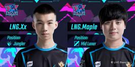 Mercato LoL : Maple et Xx rejoignent LNG Esports