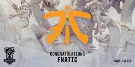 Worlds 2019 : Fnatic valide son ticket