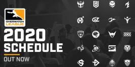 Les étapes parisiennes de l'Overwatch League 2020
