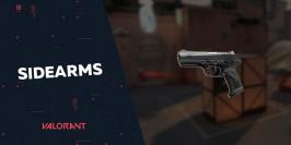 Présentation des sidearms dans Valorant