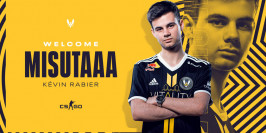 Team Vitality confirme le recrutement de Misutaaa