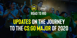 Une mise à jour de l'ESL One : Road to Rio