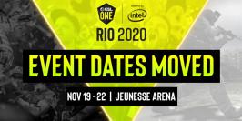 La Major de Rio 2020 reporté en novembre