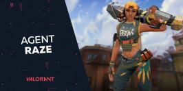 Guide et présentation de l'agent Raze