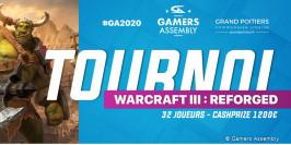Un tournoi Warcraft III: Reforged à la GA 2020