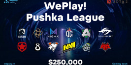 WePlay! présente la Pushka League