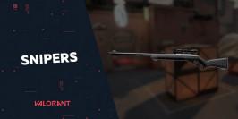 Présentation des fusils de sniper dans Valorant