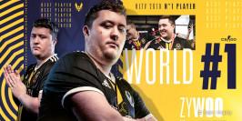 ZywOo, élu meilleur joueur du monde 2019 par HLTV