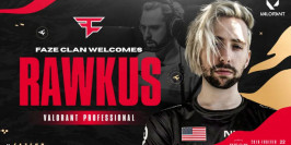 FaZe Clan confirme le recrutement de Rawkus