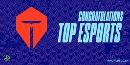 Worlds 2020 : TOP Esports qualifiée aux points
