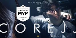 LCS : CoreJJ est le MVP du Summer Split
