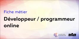 Fiche métier : développeur ou programmeur online