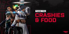 T1 se sépare de food et crashies