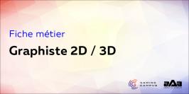 Fiche métier : graphiste 2D/3D