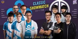 LCS : les équipes du showmatch spécial entre C9 et TSM