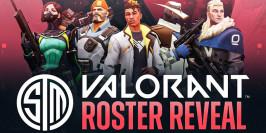 Team SoloMid présente son équipe Valorant